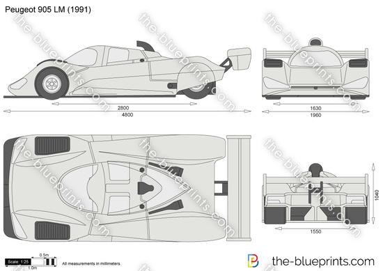 Peugeot 905 LM