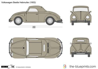 Volkswagen Beetle Hebmuller (1952)