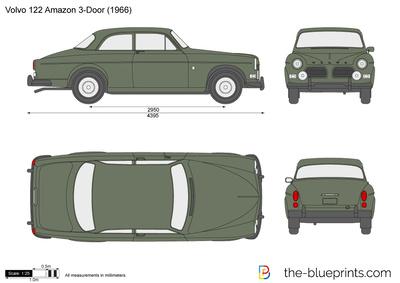 Volvo 122 Amazon (1961)