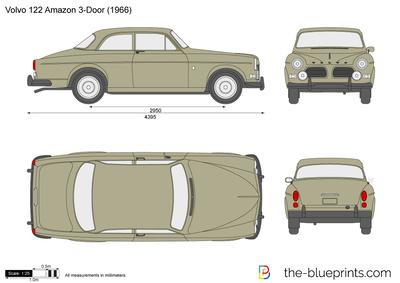 Volvo 122S Amazon (1966)