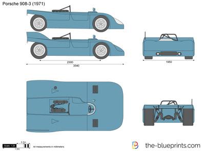 Porsche 908-3 (1971)