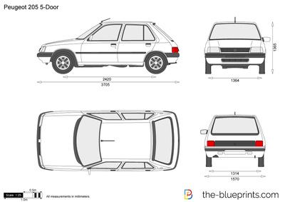 Peugeot 205 5-Door