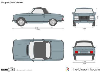 Peugeot 304 Cabriolet (1972)
