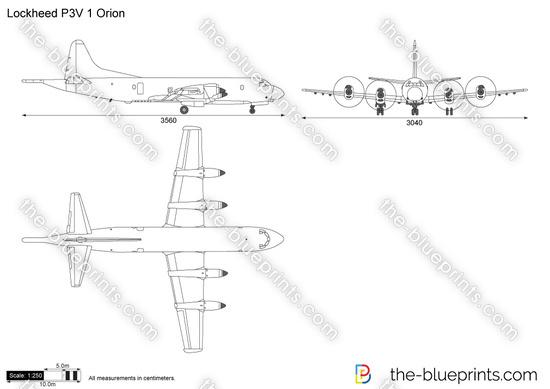 Lockheed P3V 1 Orion