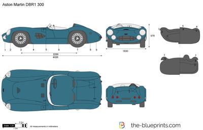 Aston Martin DBR1 300 (1959)