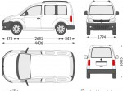 Volkswagen Caddy Camper (2012)