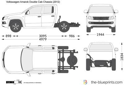 Volkswagen Amarok Double Cab Chassis (2012)