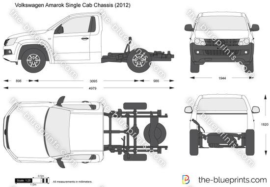 Volkswagen Amarok Single Cab Chassis