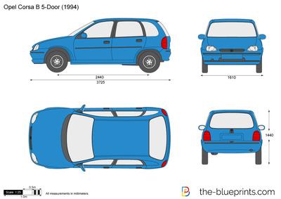 Opel Corsa B 5-Door