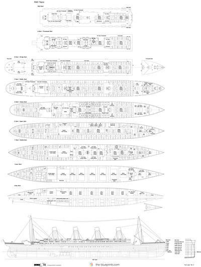Titanic Outline Drawing Drawing Rms Titanic