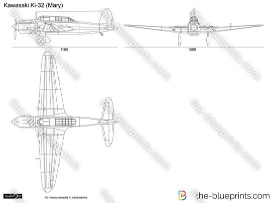 Kawasaki Ki-32 (Mary)