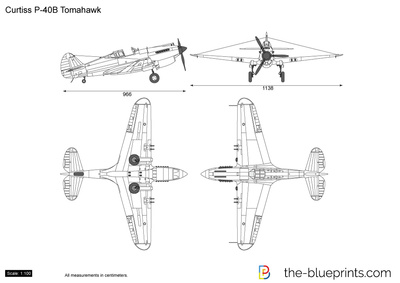 Curtiss P-40B Tomahawk