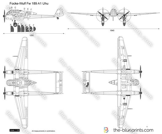 Focke-Wulf Fw 189 A1 Uhu