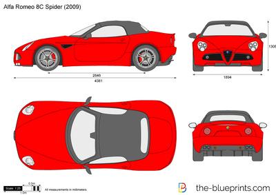 Alfa Romeo 8C Cabriolet (2010)