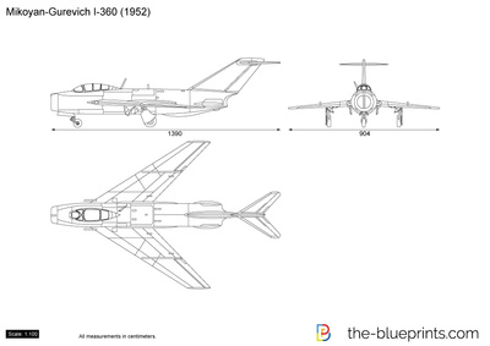 Mikoyan-Gurevich I-360