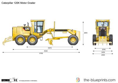 Caterpillar 120K Motor Grader