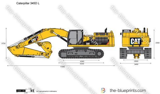 Caterpillar 345D L