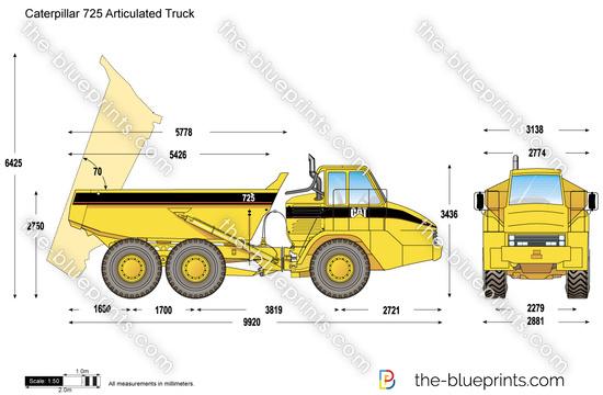 Caterpillar 725 Articulated Truck