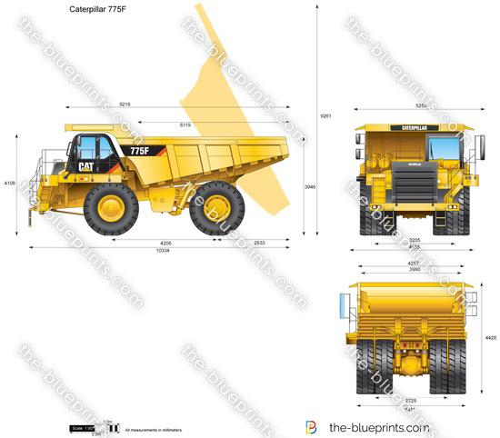 Caterpillar 775F Off-highway Truck
