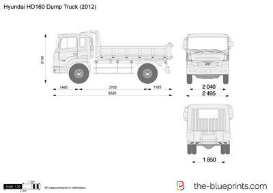 Hyundai HD160 Dump Truck