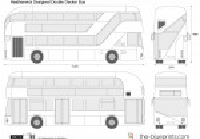 Heatherwick Designed Double Decker Bus