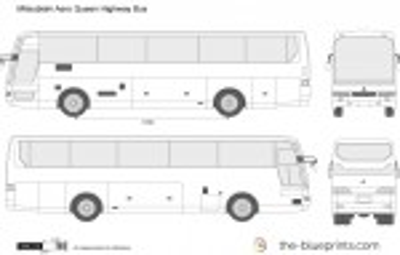 Mitsubishi Aero Queen Highway Bus