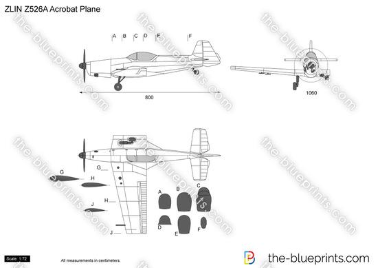Zlin Z-526A Acrobat Plane