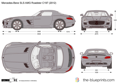 Mercedes-Benz SLS AMG Roadster C197