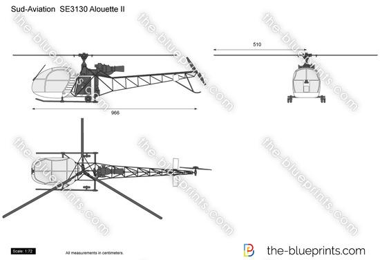 Sud-Aviation  SE3130 Alouette II