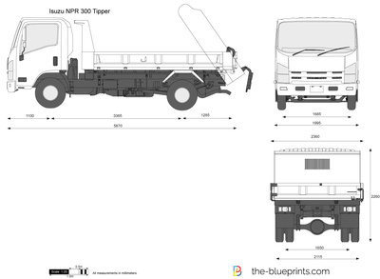 Isuzu NPR 300 Tipper