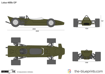 Lotus 49Bb GP