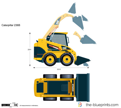 Caterpillar 236B Skid Steer Loader