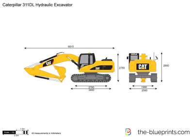 Caterpillar 311DL Hydraulic Excavator