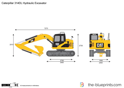 Caterpillar 314DL Hydraulic Excavator