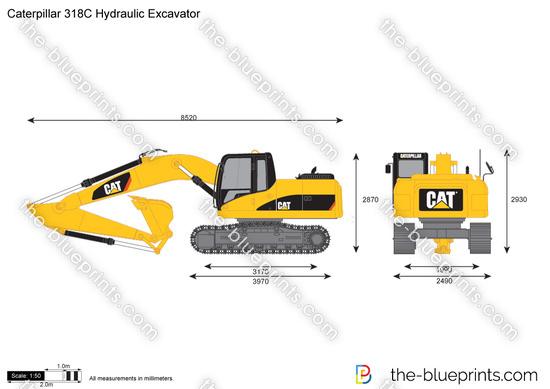 Caterpillar 318C Hydraulic Excavator