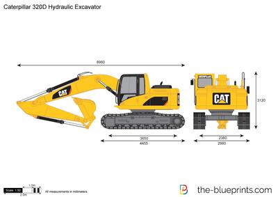 Caterpillar 320D Hydraulic Excavator