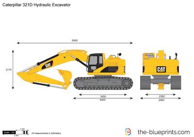 Caterpillar 321D Hydraulic Excavator