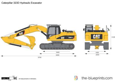 Caterpillar 323D Hydraulic Excavator