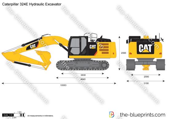 Caterpillar 324E Hydraulic Excavator