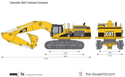 Caterpillar 365C Hydraulic Excavator