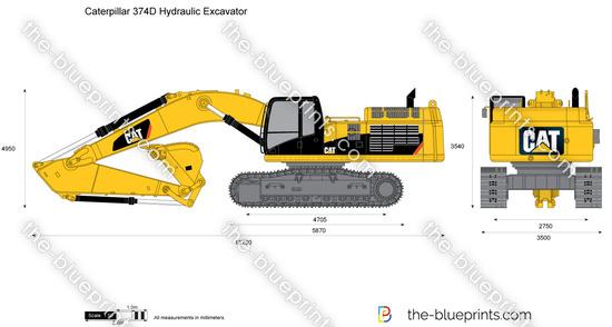 Caterpillar 374D Hydraulic Excavator