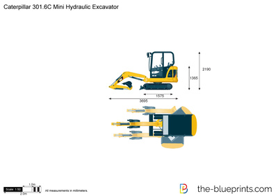 Caterpillar 301.6C Mini Hydraulic Excavator