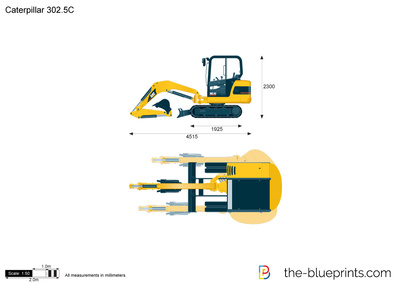 Caterpillar 302.5C Mini Hydraulic Excavator