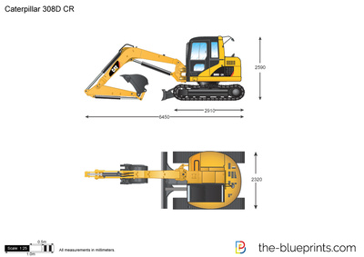 Caterpillar 308D CR Mini Hydraulic Excavator