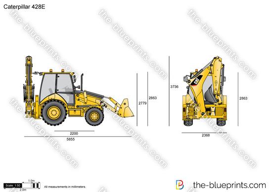 Caterpillar 428E Backhoe Loader