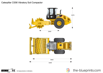 Caterpillar CS56 Vibratory Soil Compactor