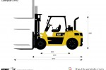 Caterpillar DP60 Lift Truck