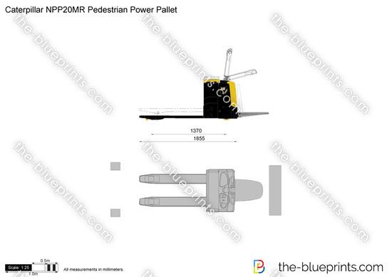 Caterpillar NPP20MR Pedestrian Power Pallet