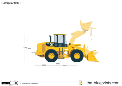 Caterpillar 938H Wheel Loader