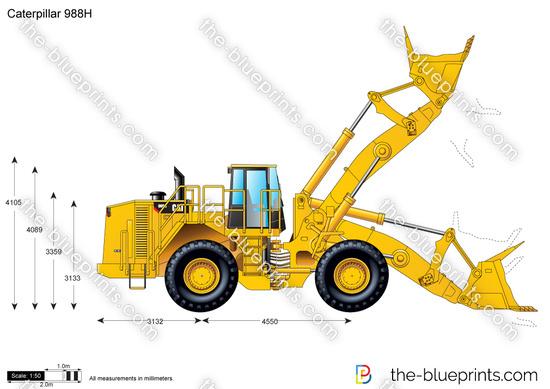 Caterpillar 988H Wheel Loader